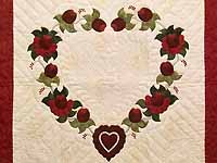 One Dozen Roses Wall Hanging