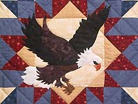 American Eagle Wall Hanging