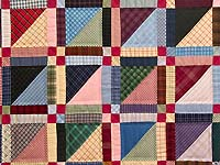 Plaid Homespun Squares Throw