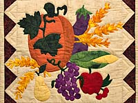 Autumn Harvest Wall Hanging