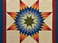 Southwest Colors Lone Star Wall Hanging