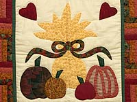 Heartful Harvest Wall Hanging