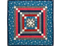 Civil War Colors Star Chain Mini Wall Hanging