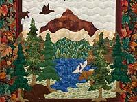 Bear and Moose Wall Hanging