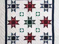 Multicolor Ohio Stars Wall Hanging