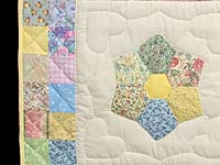 Pastel This and That Crib Quilt
