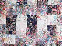 Fabric Maze Watercolor Wall Hanging