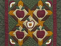 Miniature Apple Slice Quilt