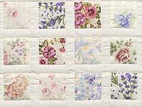 Floral Delight Crib Quilt