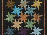 10% Christmas Refund Check - Hand Painted Star Bright Wall Hanging