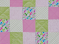 Pink Baby Chic needs a Crib Quilt