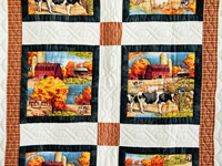 Country Farm Scene Quilt