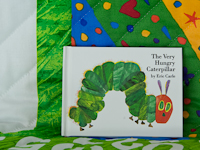 The Very Hungry Caterpillar REVERSIBLE including the little Book