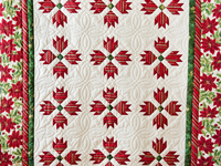 Christmas Bear's Paw Quilt