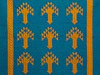 Indiana Amish Tree of Life Wall Hanging