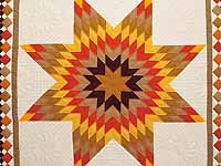 Indiana Amish Harvest Lone Star Throw