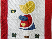 Little Dutch Girl Crib Quilt