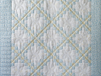 By The Seashore Irish Chain Quilt