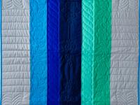 Color Palette Crib Quilt
