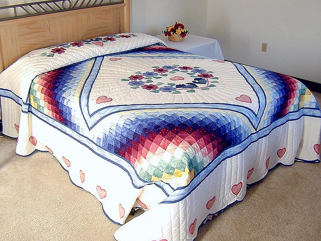 Rainbow Country Sweetheart Quilt Photo 1