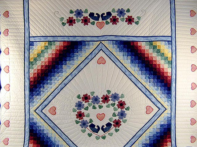 Rainbow Country Sweetheart Quilt Photo 2