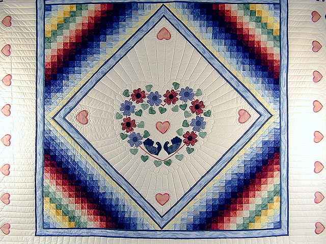 Rainbow Country Sweetheart Quilt Photo 3