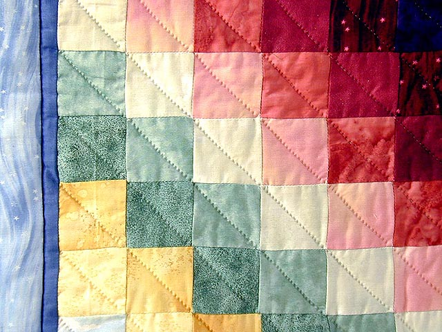 Rainbow Country Sweetheart Quilt Photo 6