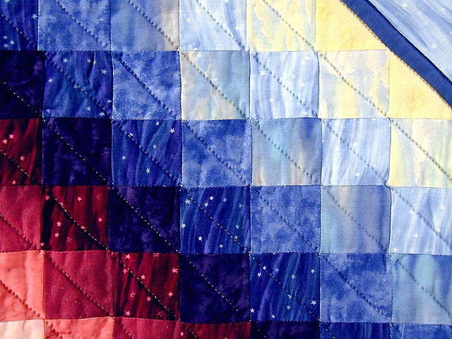 Rainbow Country Sweetheart Quilt Photo 7