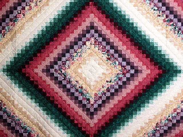 King Teal Green and Rose Color Splash Quilt Photo 3