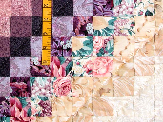 King Teal Green and Rose Color Splash Quilt Photo 5