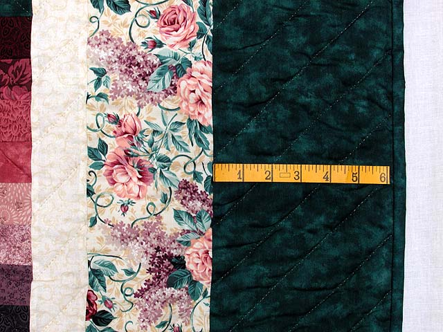King Teal Green and Rose Color Splash Quilt Photo 7