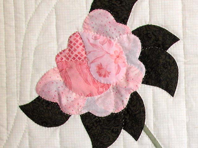 King Gold and Rose Lancaster Treasures Quilt Photo 6