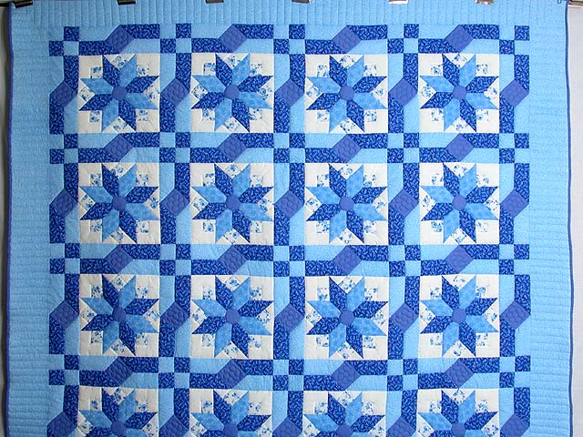 Blue Columbine Quilt Photo 2