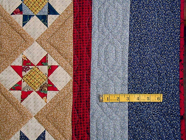 Civil War Mariners Compass Quilt Photo 5