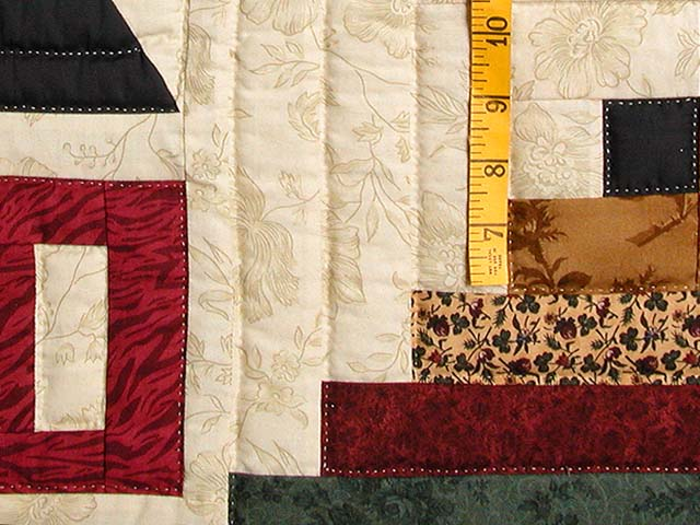 Schoolhouse Log Cabin Quilt Photo 5