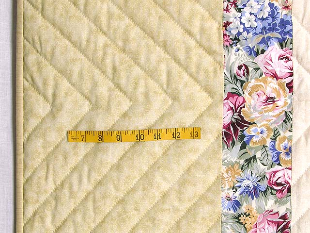 King Rose Cream and Tan I Promised You a Rose Garden Quilt Photo 7
