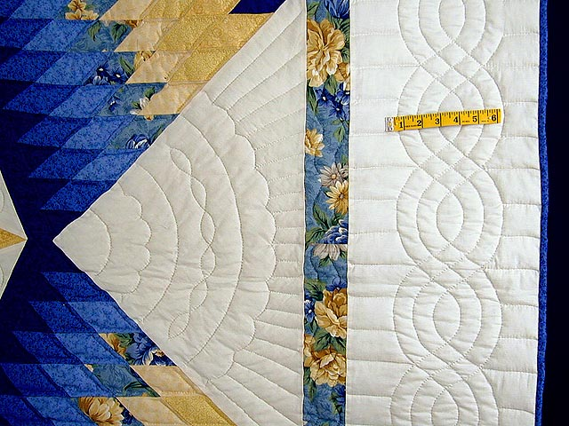 Blue and Yellow Alabama Star Quilt Photo 5