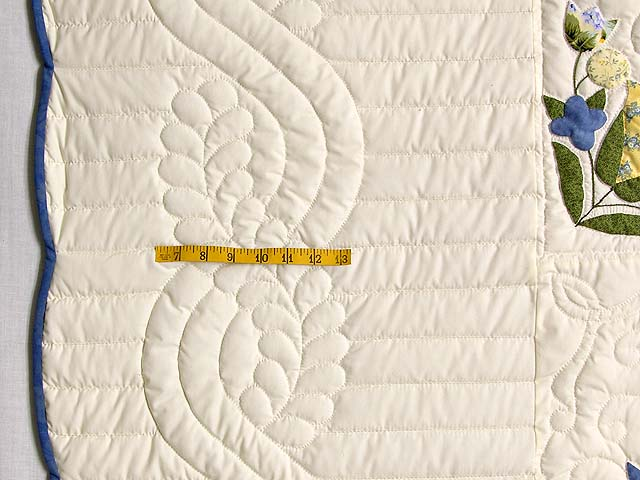 Blue and Yellow Love Dove Album Quilt Photo 6