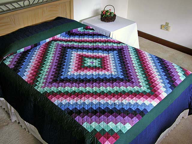 Amish Sunshine and Shadow Quilt Photo 1