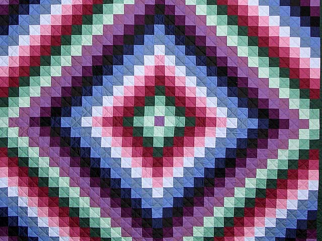 Amish Sunshine and Shadow Quilt Photo 3