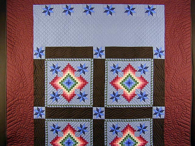 KING Amish Colors Grannys Favorite Quilt Photo 2