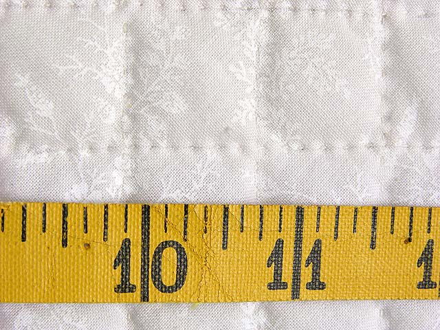 Pastel Blue and Ivory Nine Patch Quilt Photo 7