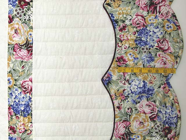 Pastel Blue and Rose Spring Basket Quilt Photo 7