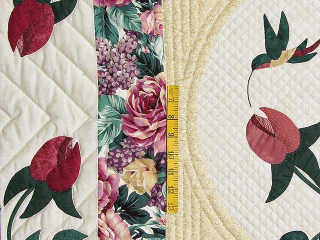 King I Promised You a Rose Garden Quilt Photo 5