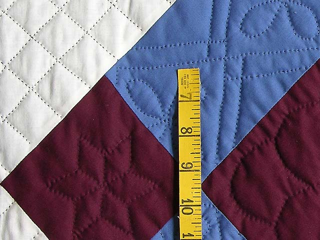 Amish Bright Center Diamond Quilt Photo 5