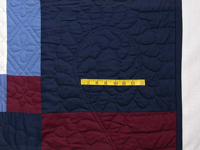 Amish Bright Center Diamond Quilt Photo 6