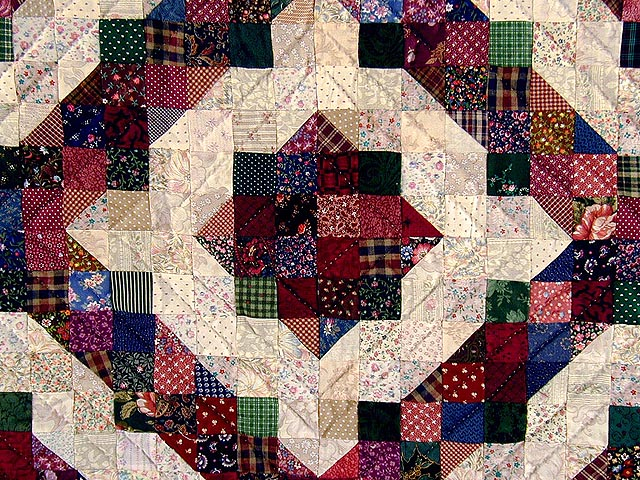 Split Nine Patch Quilt -- outstanding smartly made Amish Quilts ... : the quilting patch - Adamdwight.com