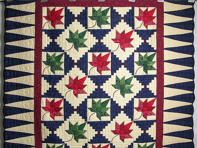 Autumn Splendor Log Cabin Quilt Photo 2