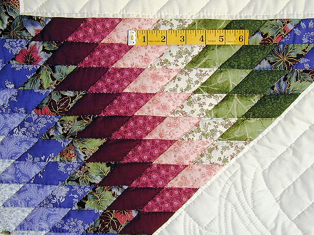Burgundy Green and Blue Fine Lone Star Quilt Photo 6