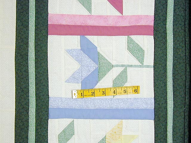 Pastel Lily Patchwork Quilt Photo 6
